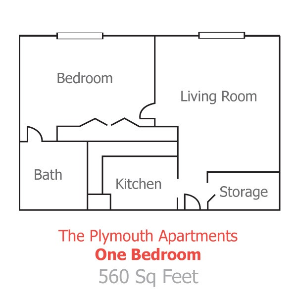Plymouth-Floorplans-One-Bedroom